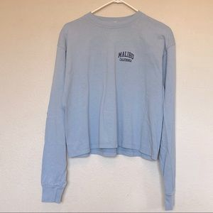 Malibu Longsleeve Top Light Blue